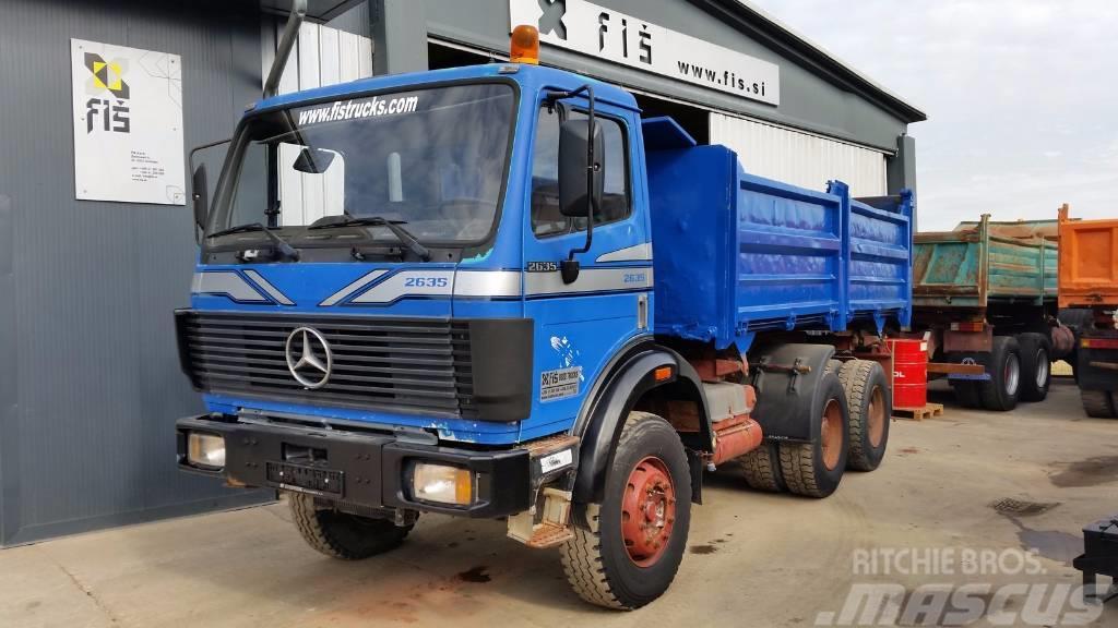 Mercedes-Benz SK 2635 6x4 meiller tipper