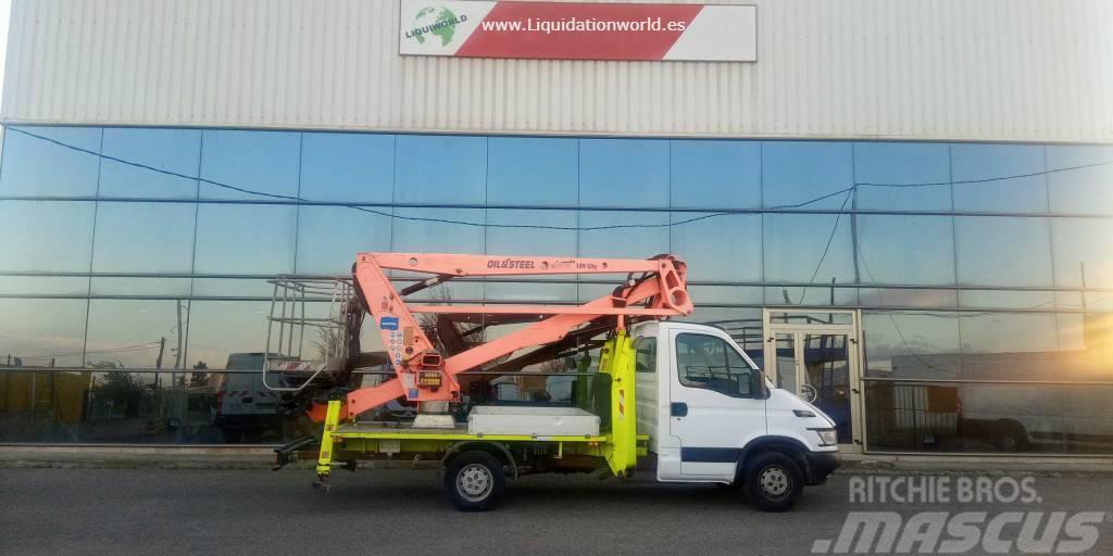 Iveco 35 S 18m 200 kg Crane Oil&Steel