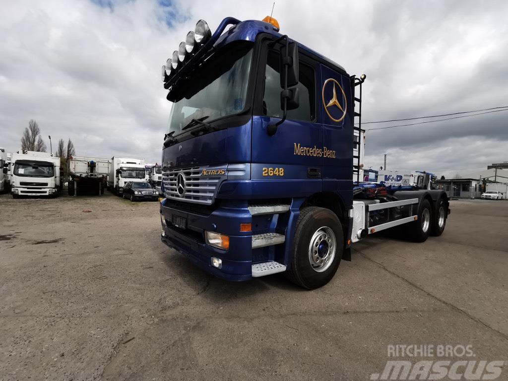 Mercedes-Benz 2648 L 6x4 HIAB Multilift 20 Tons, Steel/Air