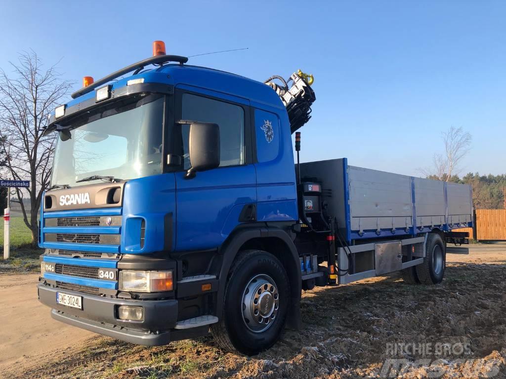 Scania P114GB HIAB  TR.058
