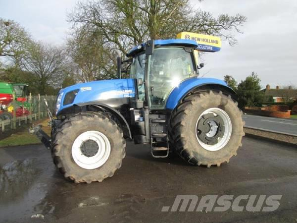 New Holland T7.250 Power command