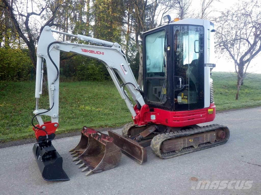takeuchi tb23r preis baujahr 2007 minibagger. Black Bedroom Furniture Sets. Home Design Ideas