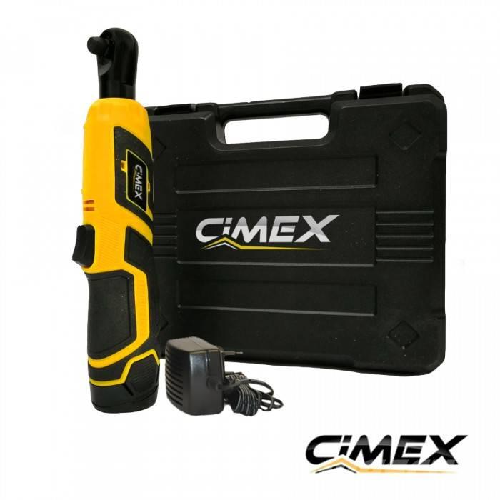 [Other] Cordless Impact Ratchet 40 Nm CIMEX CW12V40NM