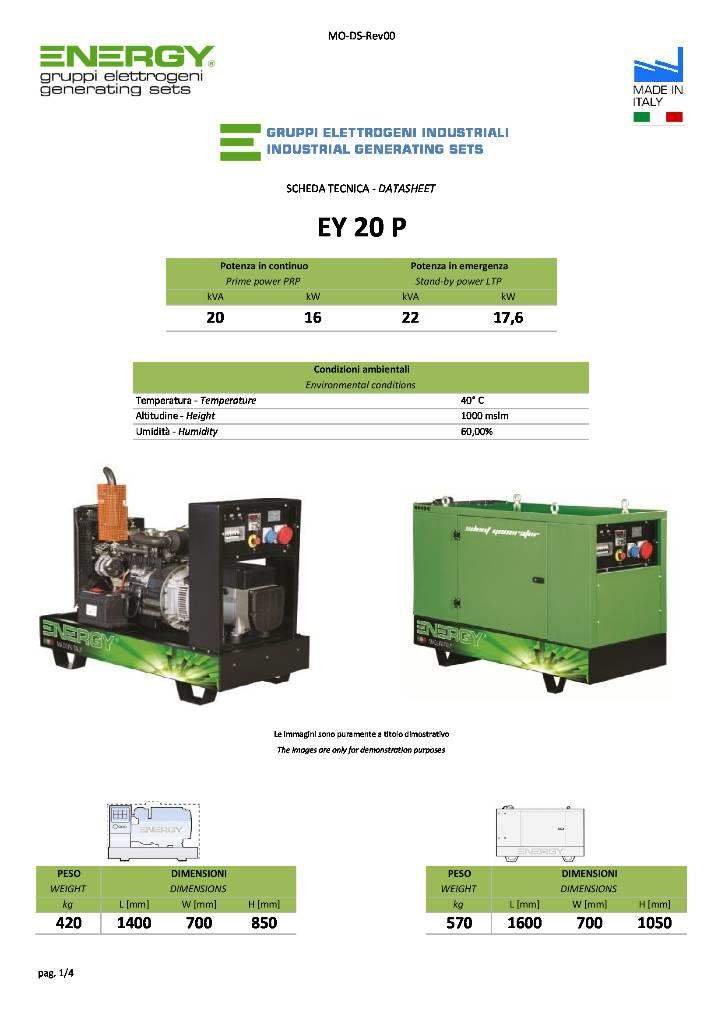 [Other] Energy generator 20 kva perkins