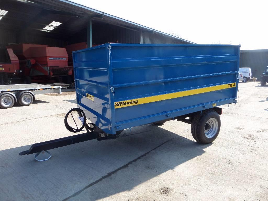 Fleming TR 4 HIGH SIDED TIPPING TRAILER