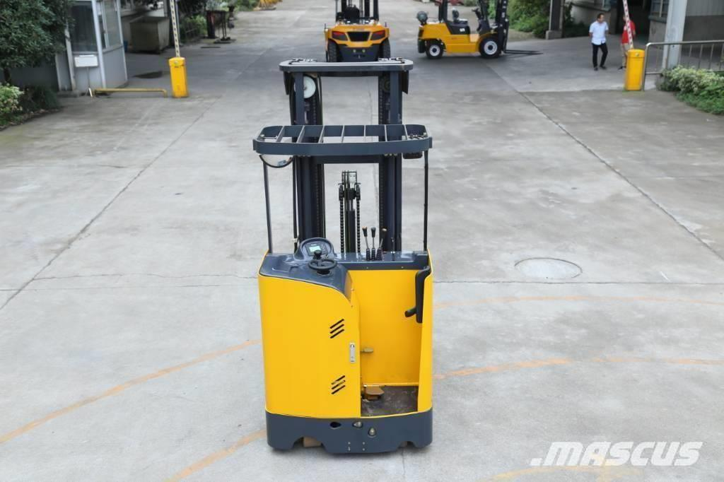 UN Forklift FBR13 Stand-on Reach Truck with Mast 6000mm