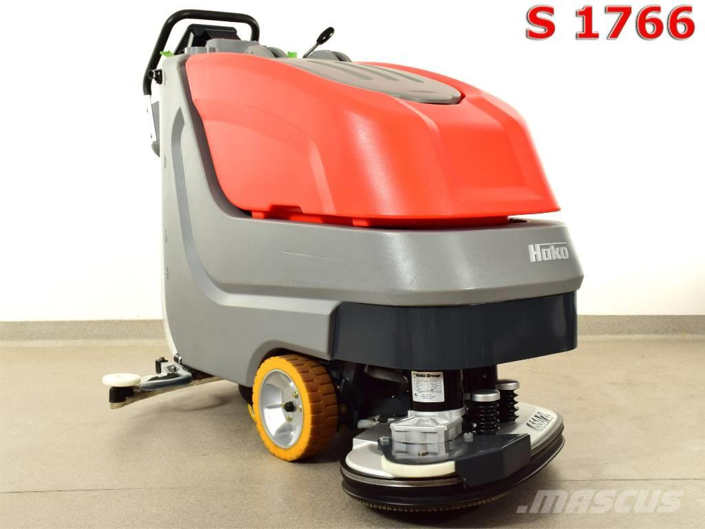 [Other] SCRUBBER DRYER HAKO B 650/07 NEW BATTERIES, 861h