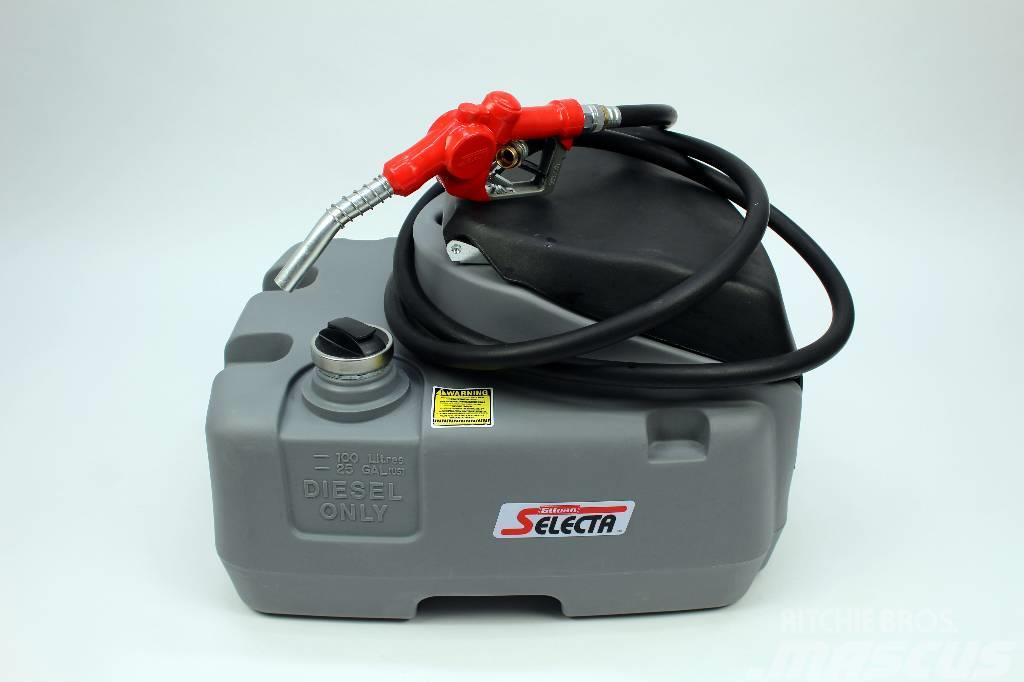 [Other] Selecta polttoainesäiliö 100 litraa + pumppu (Q01)