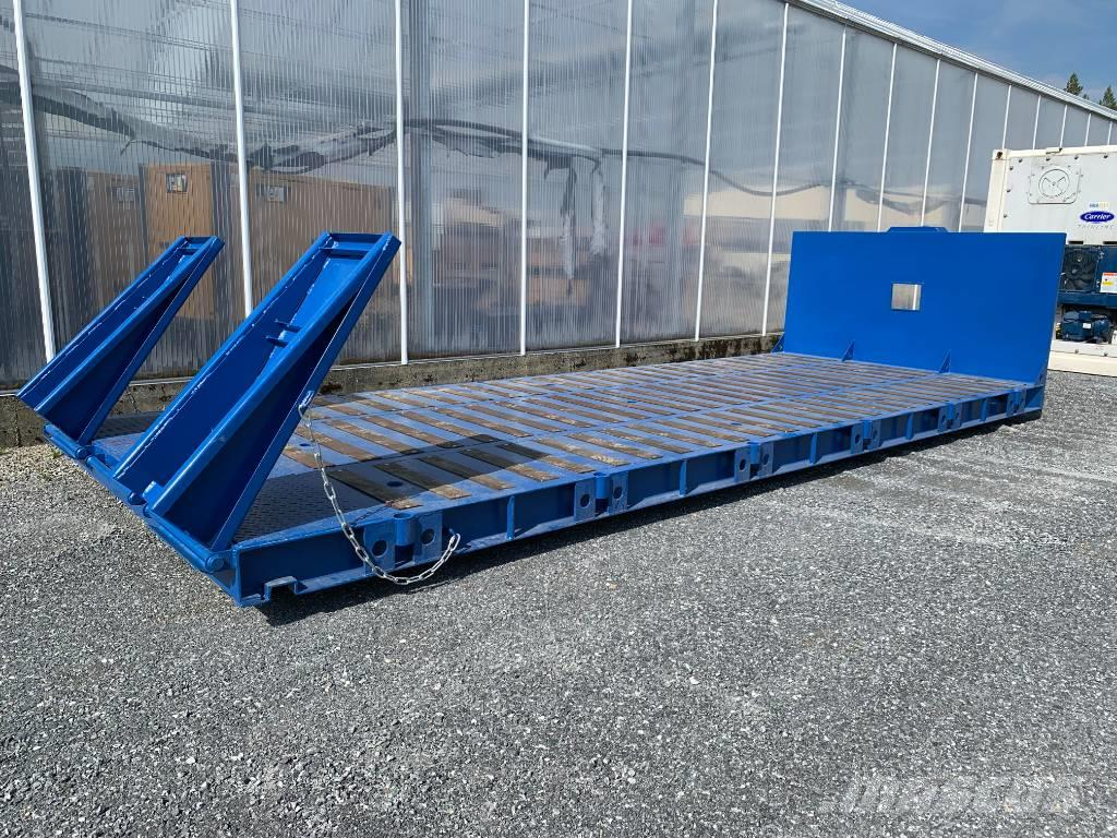 [Other] Lastväxlarflak Maskinflak 6,5m med ramper nytt