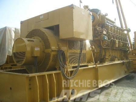 Caterpillar 3616 Gas Generator 4000 KVA, 50 HZ, Bargain Price
