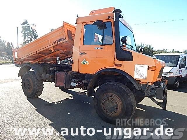 Unimog U 1650 427/21 4x4 2x Zapfwelle Kommunalhydraulik