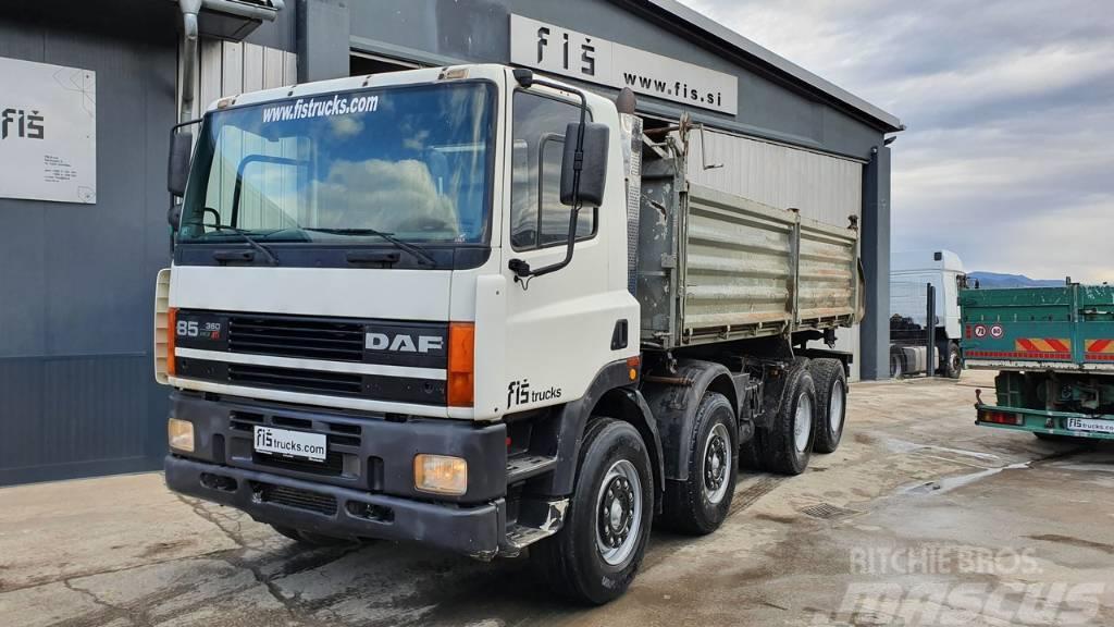 DAF 85.360 ATI 8X4 meiller tipper - euro 2