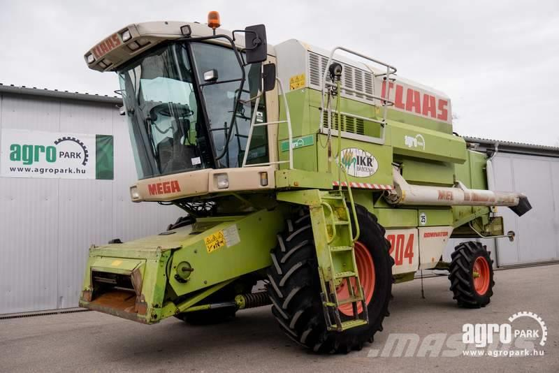 CLAAS Mega 204 (5231/8014 hours), Combine with chopper