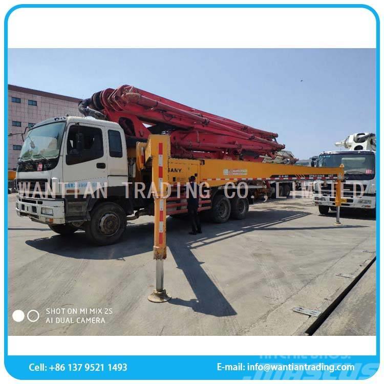 Sany SY5330THB (47M Used concrete pump)
