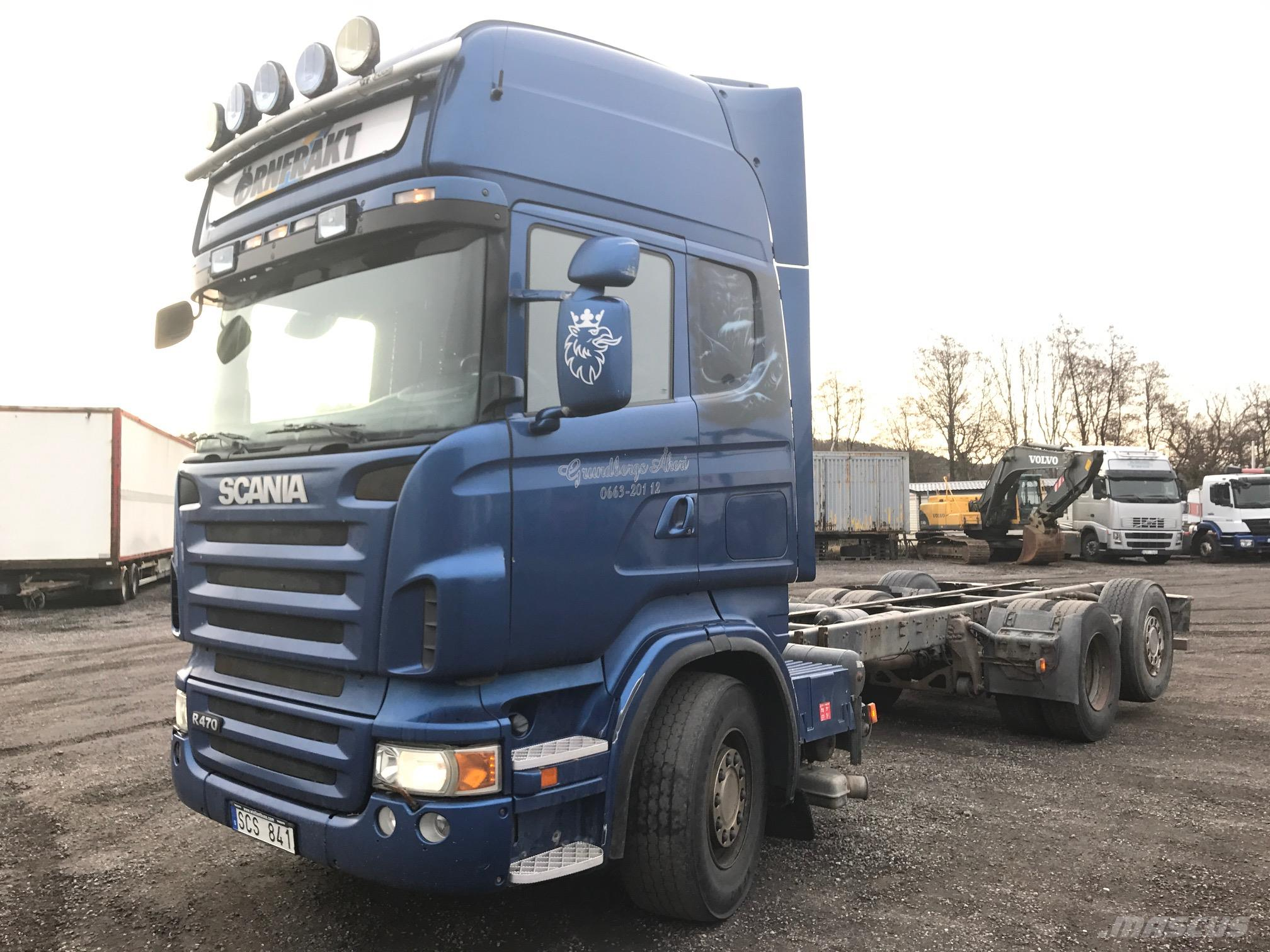 used scania r 470 cab chassis year 2007 price 11 497 for sale mascus usa. Black Bedroom Furniture Sets. Home Design Ideas