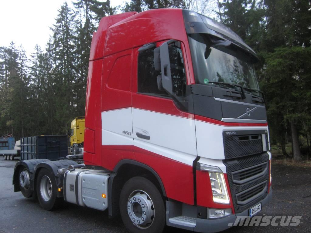 volvo fh 4 volvo fh4 460 6x2 occasion prix 68 000 ann e d 39 immatriculation 2014 tracteur. Black Bedroom Furniture Sets. Home Design Ideas