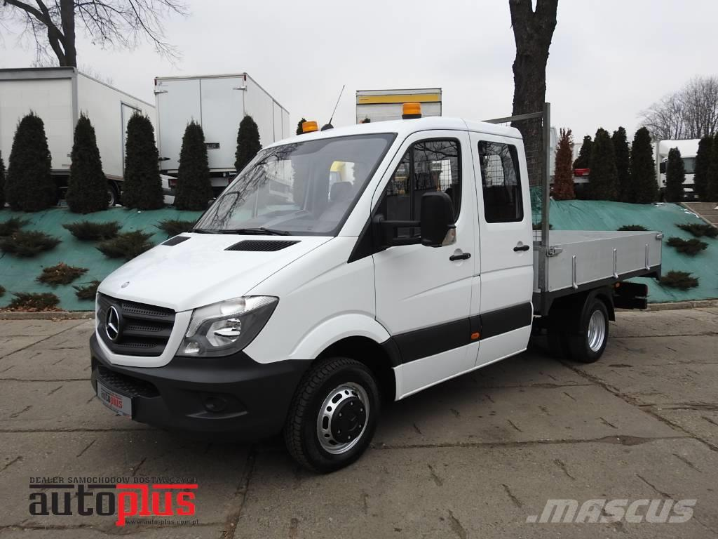 Used mercedes benz sprinter 516 doka 7 seats doublewheels for Price of mercedes benz sprinter