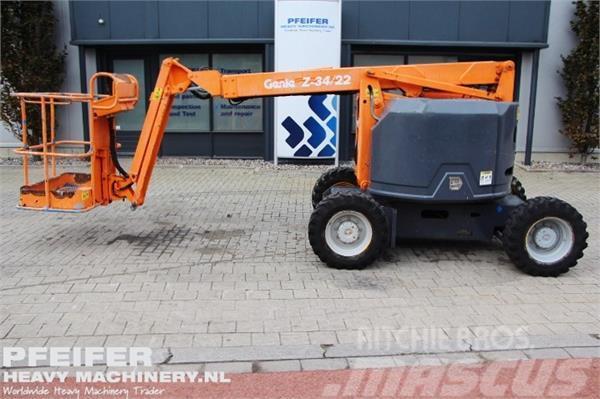 Genie Z34/22JRT Diesel, 4x4 Drive, 12.6m Working Height,