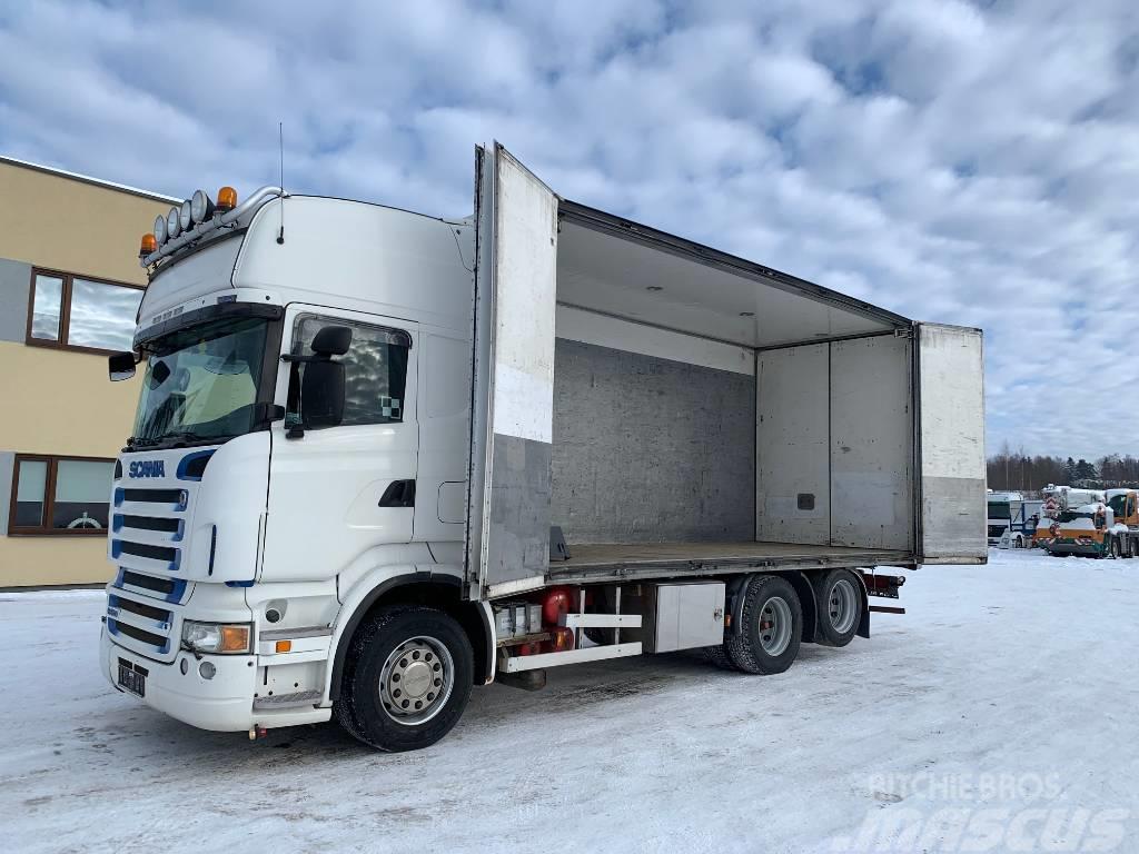 Scania R580 6x2+RETARDER+SIDE OPENING