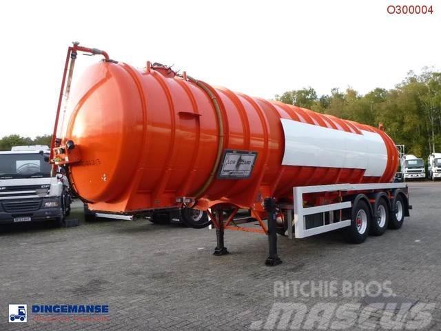 Crossland Vacuum tank alu 33 m3 / 1 comp + pump