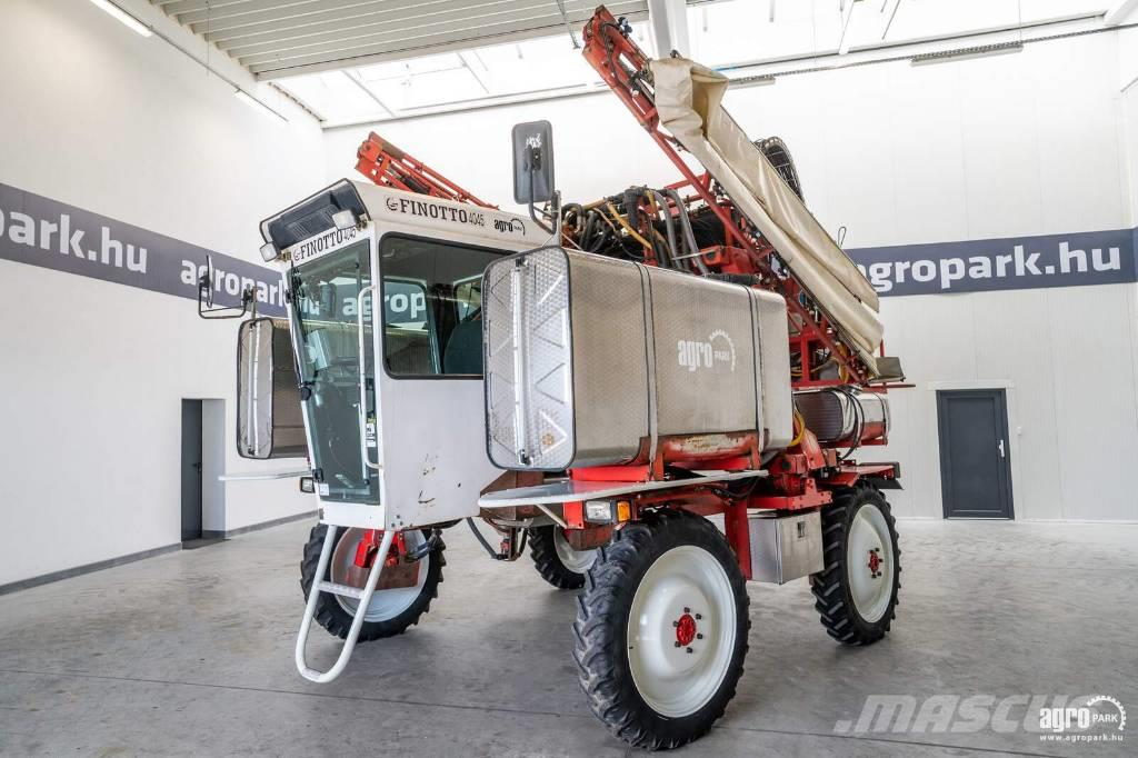 [Other] Finotto 4045 (4579 hours) 18 m air assisted boom,