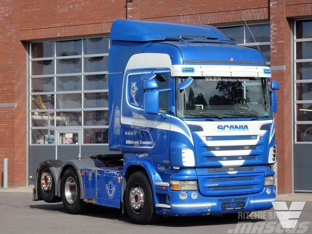Scania R500 V8 R500 Highline 6x2 - PTO/Hydraulic - Manual