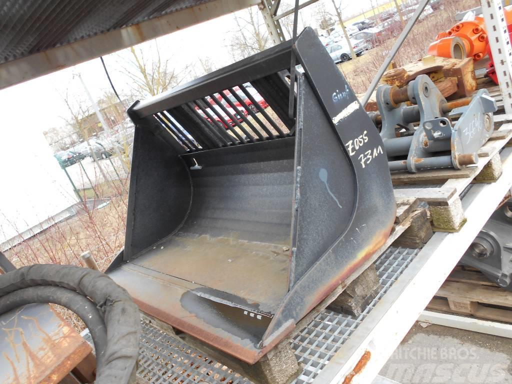 GiANT GITTERSCHAUFEL SWE 1100 mm 250L