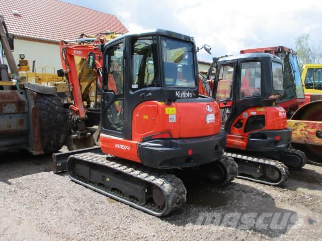 Kubota KX 057-4 Powertilt