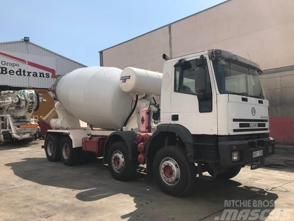 Iveco Eurotrakker 350 camión hormigonera Baryval 10m3