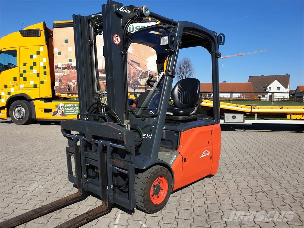 Linde E14-01 only 246 hours