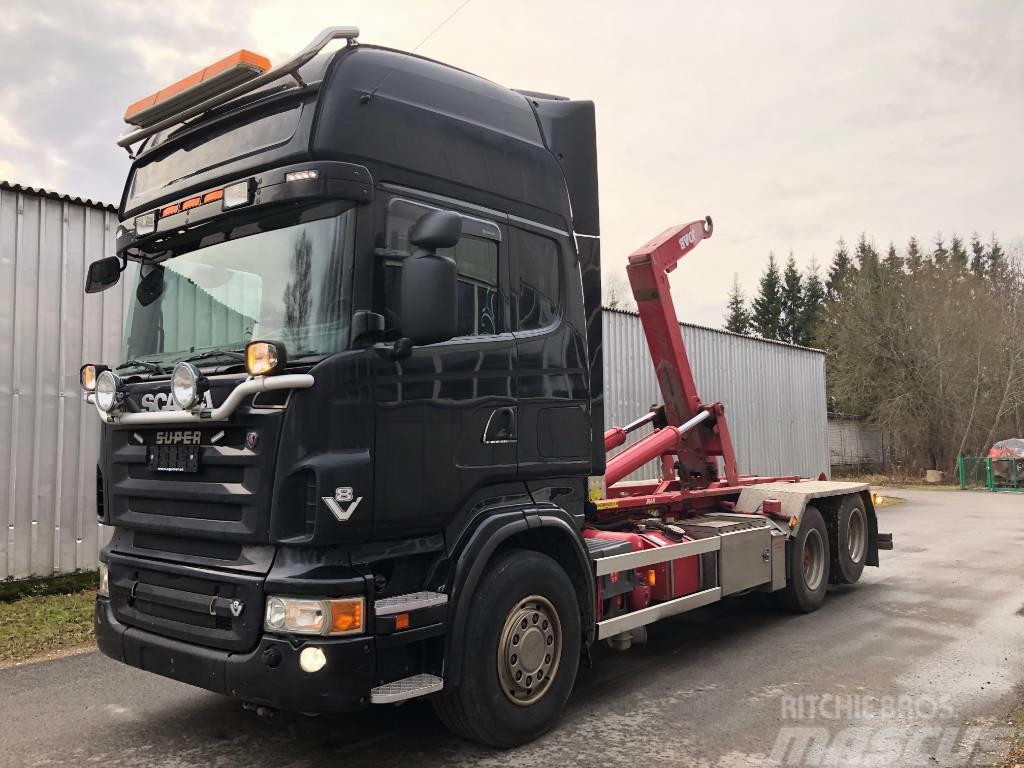 Scania R560 V8 6X2 JOAB HOOKLIFT
