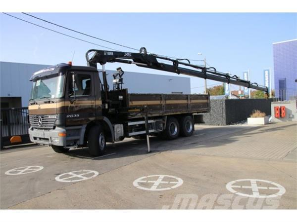 Mercedes-Benz ACTROS 2635 K 6x4 - HIAB 144 (4X)