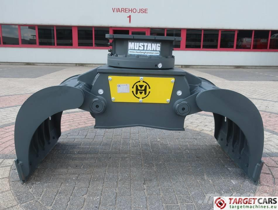 Mustang GRP1000 Hydraulic Rotation Grapple 13~19T NEW