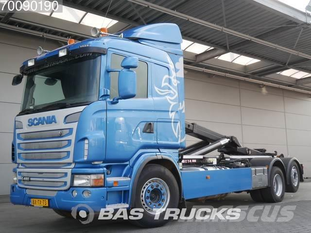 Scania G480 6X2 Steering-Axle VDL S-20-640 Euro 5 NL-Truc
