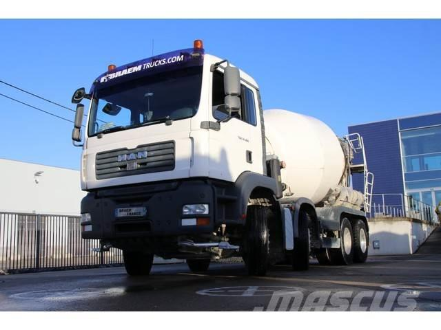 MAN TGA 32.360 BB + MIXER 9M3