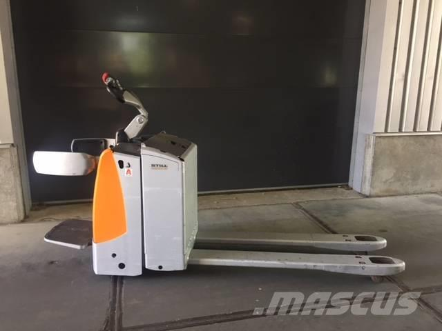 Still EXU-SF 20 Elektrische Pallettruck met meerijplatfo