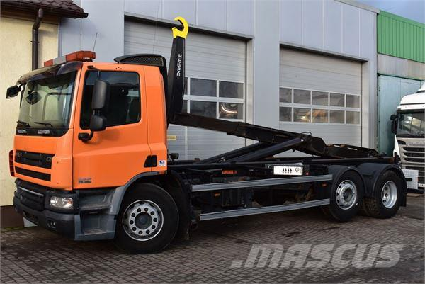 DAF CF 360 6x2/4 HAK MANUAL *2009* Euro-5