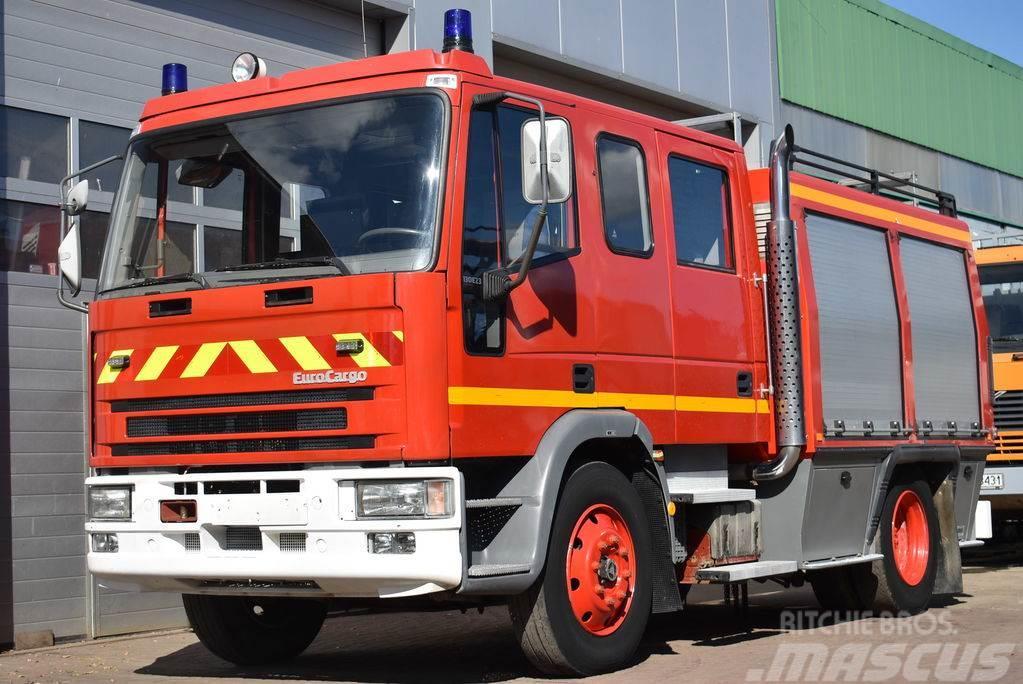 Iveco EUROCARGO 130E23 SIDES 3/20 FIRE TRUCK 3000L Bombe