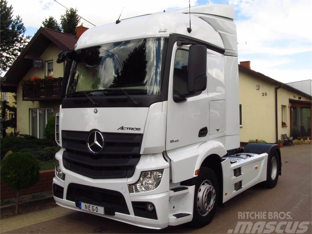 Fonkelnieuw Mercedes-Benz ACTROS 1845 EURO-6 MP4 STREAM SPACE *2014* - Tractor TK-39