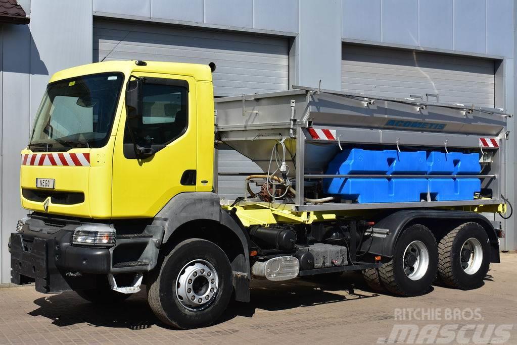 Renault KERAX 300 6x4 *114000km* WINTERDIENST Acometis 8m3