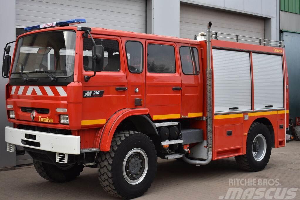 Renault M210 4x4 FIRE TRUCK BOMBEROS OFF ROAD 3000 L CAMIV
