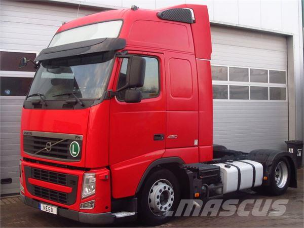 Volvo FH13 420 GLOB XL *2010* MANUAL LOWDECK