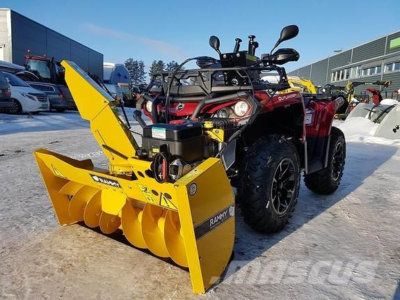 Can-am 450 m/Rammy snøfreser ++