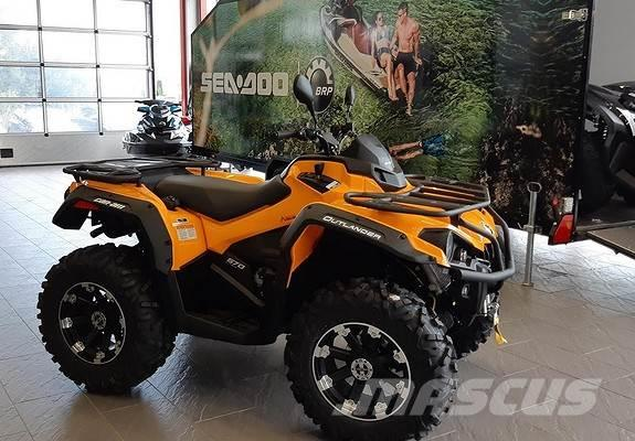 Can-am 570 max DPS ABS 105 km/t
