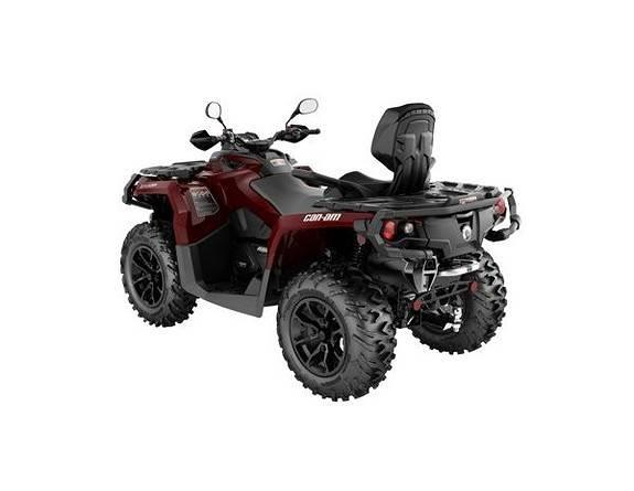 Can-am Outlander 650 Max 105km/t