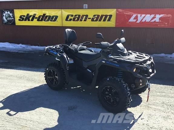 Can-am Outlander MAX 650 XT 105km/t 2020
