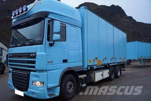 DAF 105.480 6x2 containerbil m/lift