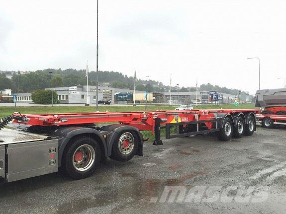 Kel-Berg C300D Containerchassis
