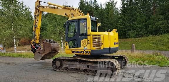 Komatsu PC138 M/Rotortilt
