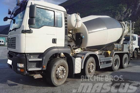 MAN 8x4 betongbil